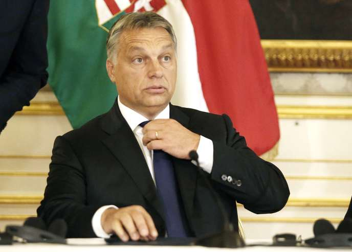Le premier ministre hongrois Viktor Orban, à Vienne, le 25 septembre.