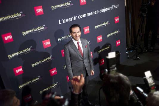 Patrick Drahi, patron d'Altice, groupe propriétaire de « L'Express ».