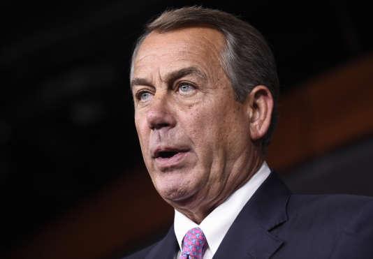 John Boehner en juillet 2015.