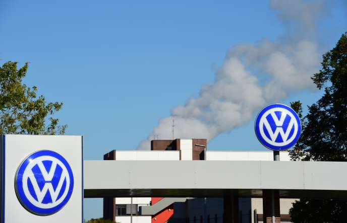 Au siège social de l'allemand Volkswagen, à Wolfsbourg