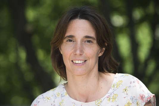 Sophie Camard, tête de liste écologiste d'un binôme formé avec le communiste Jean-Marc Coppola en région PACA.