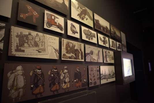 Des peintures numériques réalisées pour le jeu « Soldats inconnus : mémoires de la Grande Guerre » par l'équipe d'Ubisoft Montpellier.