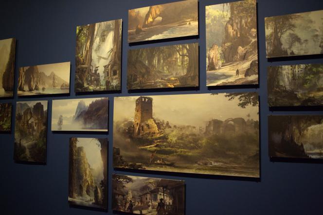 Plusieurs peintures numériques de Ubisoft Montréal pour le jeu « Assassin's Creed IV : Black Flag ».
