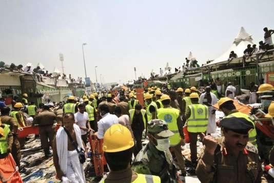 Un mouvement de foule a causé 717 morts à La Mecque, jeudi 24 septembre.