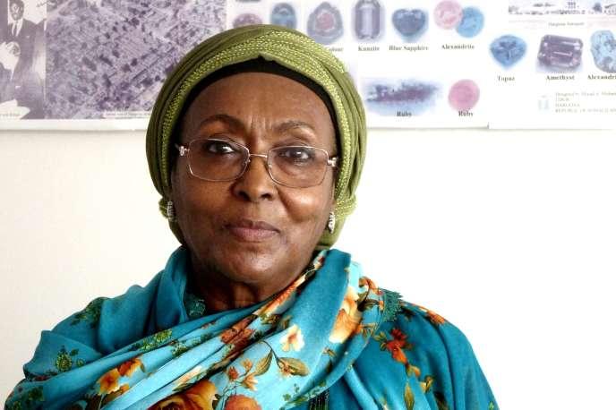 Edna Adan, dans son bureau, à Hargeisa (Somaliland).