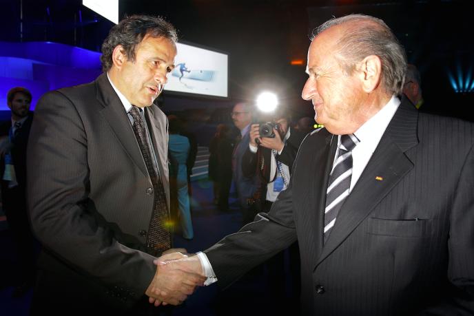 Joseph Blatter et Michel Platini, en 2007.