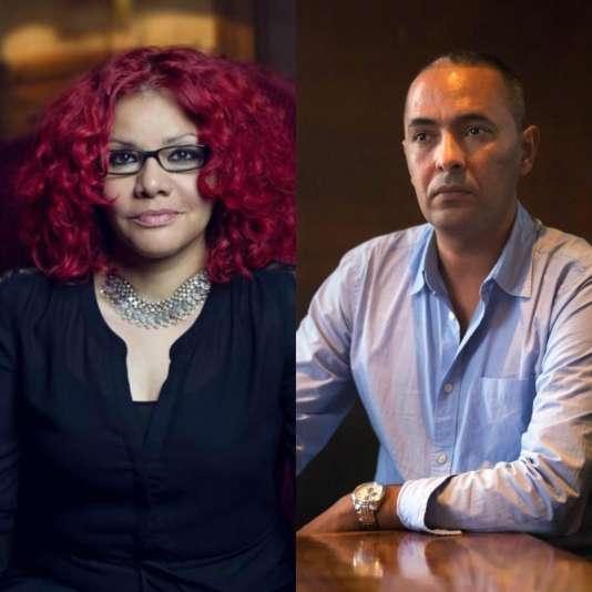 Mona Eltahawi et Kamel Daoud.