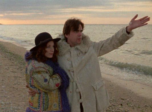 """Bernadette Lafont et Michael Lonsdale, dans """"Out1 : Noli me tangere"""", de Jacques Rivette."""