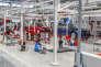 450 voitures sortiront de la nouvelle usine d'assemblage de Tesla, à Tilburg (Pays-Bas).