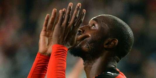 Bilan mitigé pour Giovanni Sio et les Rennais après leur match nul contre Troyes, le26septembre.