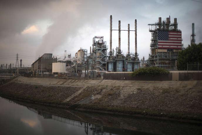 Raffinerie à Los Angeles.