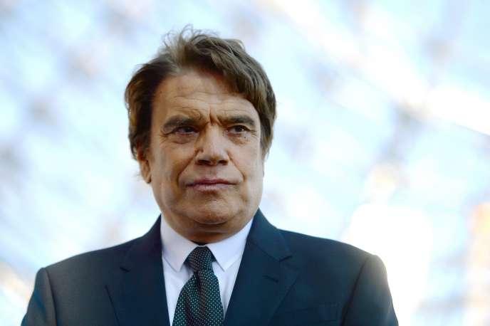 Bernard Tapie en mai 2013.
