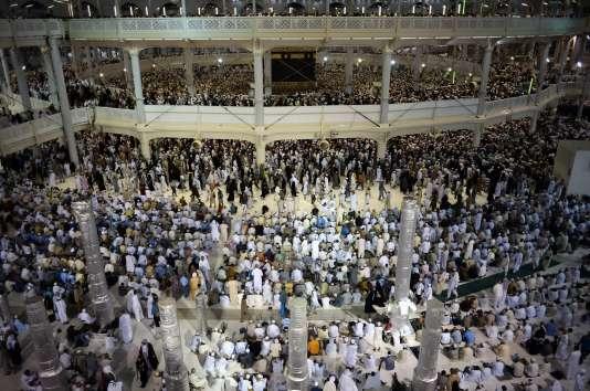 A la mosquée de La Mecque, le 26 septembre.