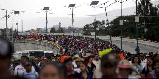A Mexico, le 26 septembre 2015.
