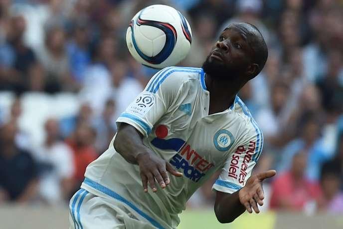 Lassana Diarra, le 27 septembre à Marseille.