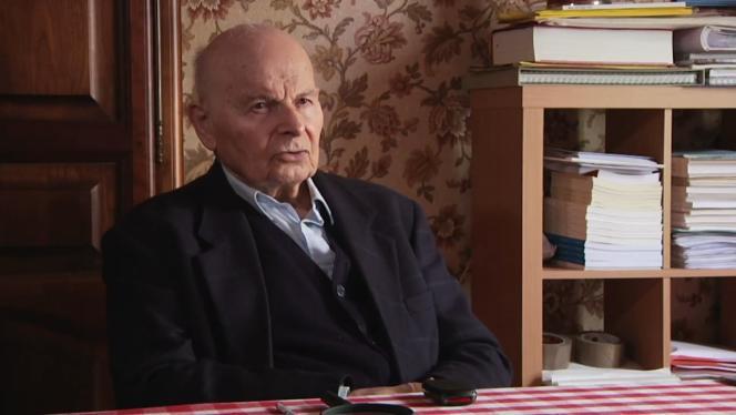 Marcel Conche dans le documentaire français de Christian Girier,