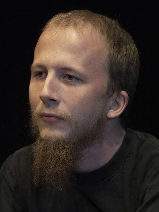 Portrait de Gottfrid Svartholm Warg.
