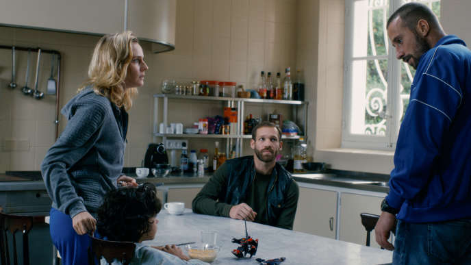 Diane Kruger, Paul Hamy et Matthias Schoenaerts dans le film français d'Alice Winocour,