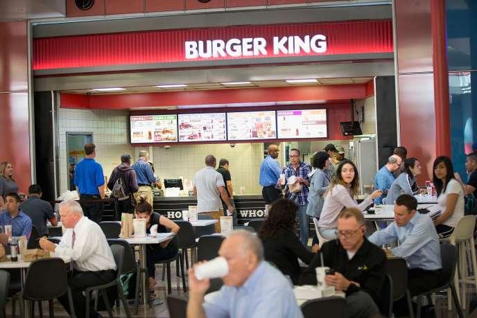 Un restaurant Burger King à Chicago, le 15 septembre 2015.