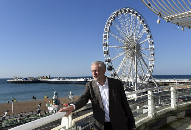 Jeremy Corbyn à Brighton en Angleterre le 27 septembre 2015.