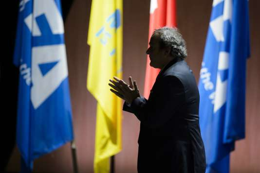 Michel Platini, le 29 mai 2015.