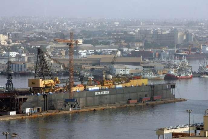 Le port de Dakar, au Sénégal, en 2007.