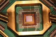 Le processeur quantique de l'entrepriseD-Wave.