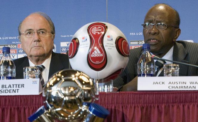 Sepp Blatter et Jack Warner, en 2007.