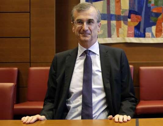 François Villeroy de Galhau le 29 septembre 2015 lors de son audition par la commission des finances de l'Assemblée Nationale.