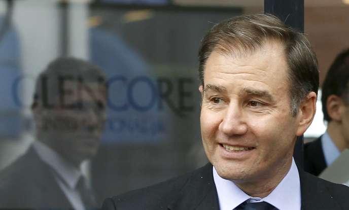 Ivan Glasenberg, PDG de Glencore, a perdu une fortune avec la chute en Bourse de son groupe