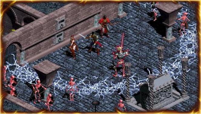La quête du Roi squelette dans «Diablo» n'apparaît pas toujours aux aventuriers.
