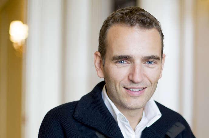 Alexandre Mars, à Paris, lundi 28 septembre.