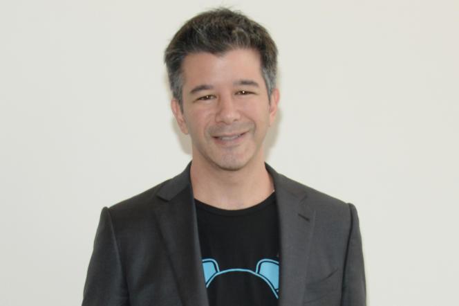 Travis Kalanick, le fondateur d'Uber, à New York le 13 septembre 2015.