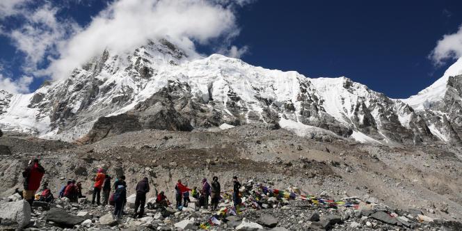 Camp de base de l'Everest, le 27 septembre.