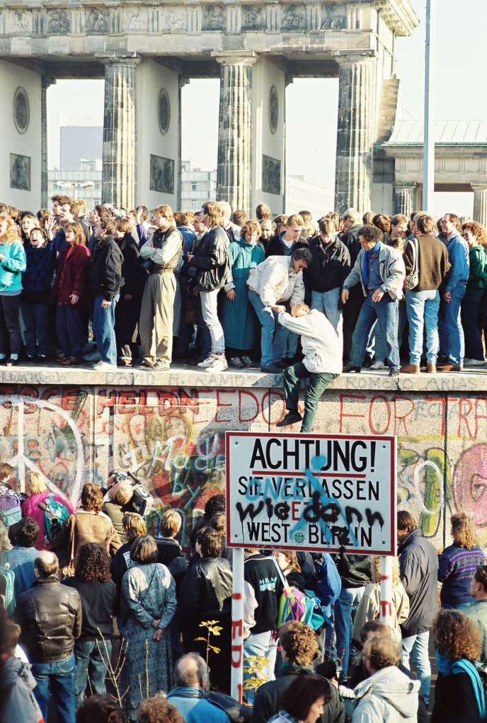 9 novembre 1989 : le mur de Berlin vient de tomber.