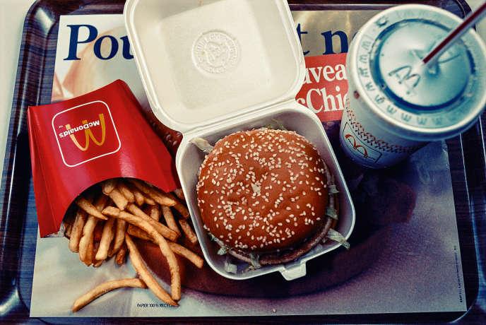 McDonalds, le 3 Décembre 1992, à Paris.