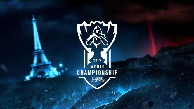 Logo des Championnats du monde 2015.