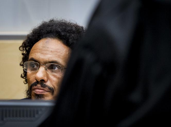 Ahmad Al-Faqi Al-Mahdi, devant la CPI, mercredi 30 septembre.