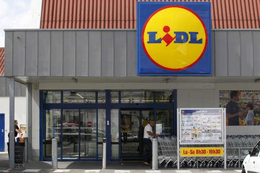 Parmi les magasins visés par les actions d'agriculteurs en Haute-Saône le 5février figuraient des enseignes allemandes Lidl et Aldi et des magasins de la chaîne belge Colruyt.