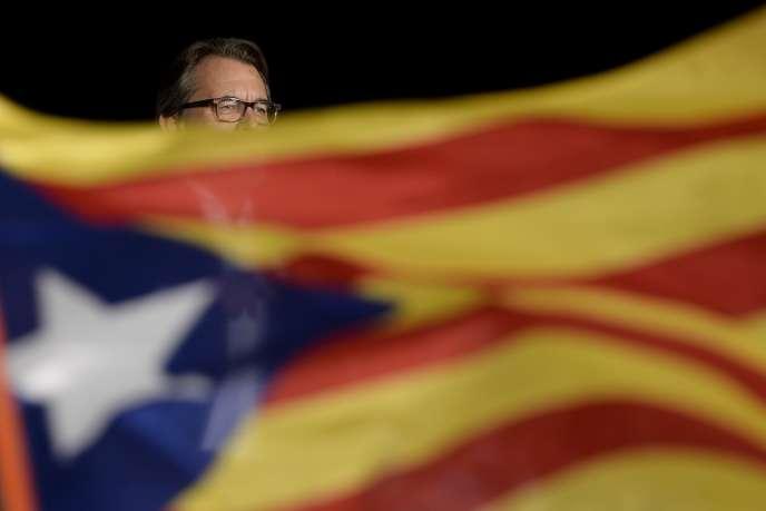 Artur Mas le 25 septembre 2015 à Barcelone.