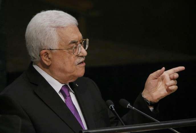 « La Palestine mérite d'être reconnue en tant qu'Etat à part entière », a lancé le président de l'Autorité palestinienne, Mahmoud Abbas, mercredi 30 septembre, devant l'Assemblée générale de l'ONU.