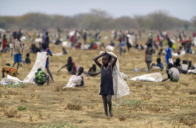 Près du village de Nyal, dans l'Etat d'Unité, au Soudan du Sud, en décembre 2013.