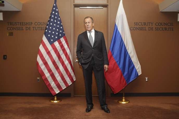 Sergueï Lavrov, le 30 septembre 2015.