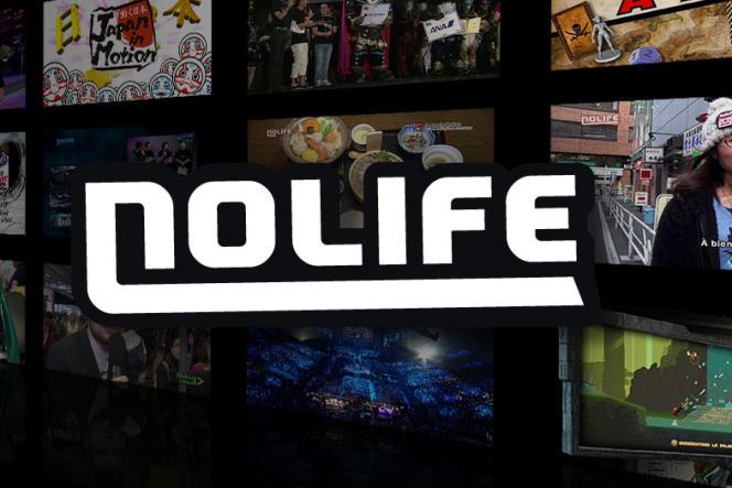 Logo de la chaîne Nolife.
