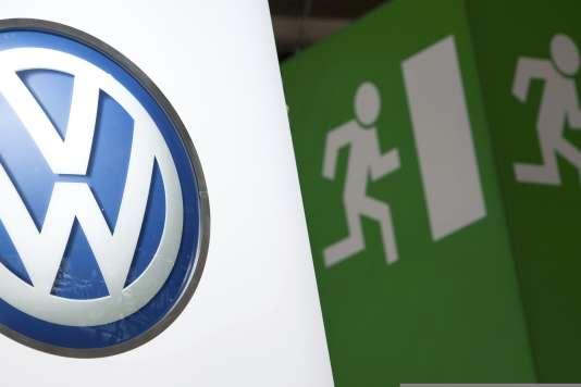 Le logo Volkswagen.