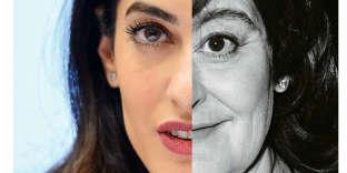 Amal Clooney et Cherie Blair.