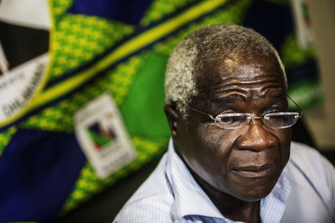 Le chef historique de la Renamo, Afonso Dhlakama, à Maputo, en octobre 2014.