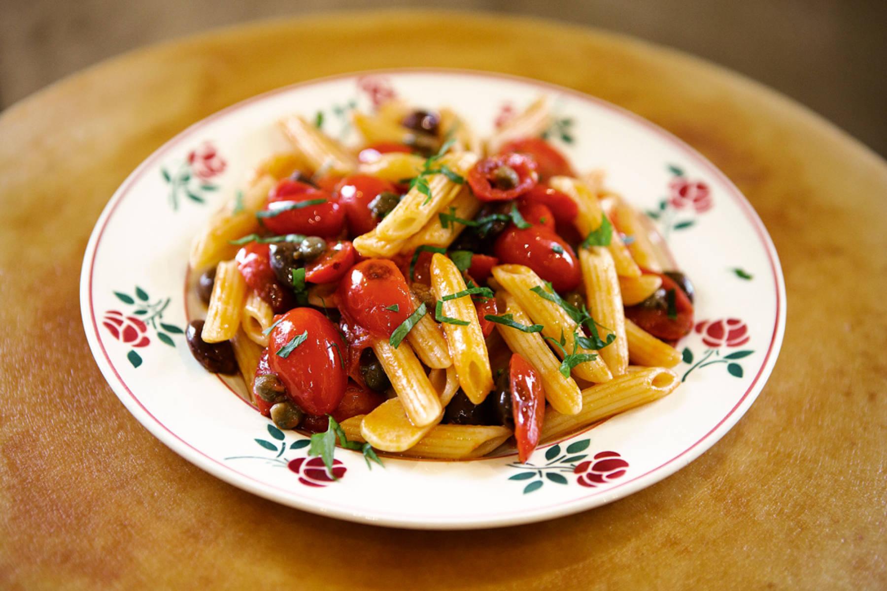 Pasta saporita : la recette facile et rapide d'Alessandra Pierini