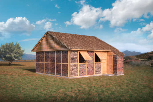 Après le séisme d'avril 2015 au Népal, le Japonais Shigeru Ban a imaginé des abris en bois et brique.
