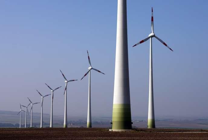 Parc éolien à Dardesheim en Allemagne.
